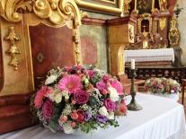 aranzma v kapli
