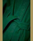 zelene paleto ton v tonu detail kolem pasku3