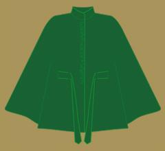 Vlněné paleto - Zelená s ostřejší zelenou