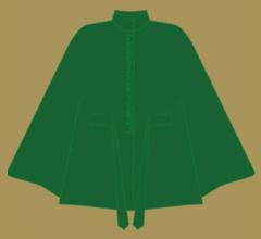 Vlněné paleto - Zelená tón v tónu