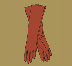 Kožené koňakové rukavice