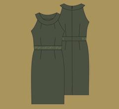 Šaty - Tmavě zelená