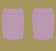 Sukně - Fialová s cappuccino