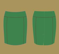 Sukně - Zelená a hnědá