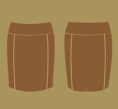 Sukně - Mléčná čokoláda, cappuccino a slonová kost