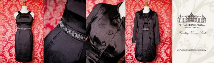 Šaty s kabátkem