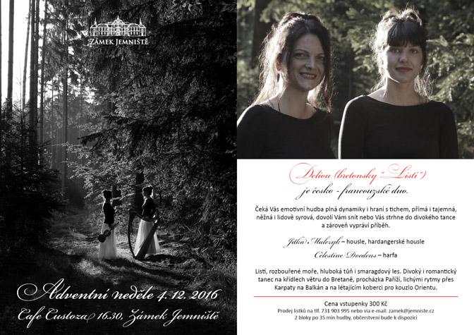 Pozvánka na adventní neděli